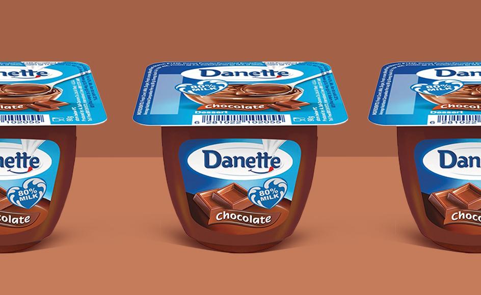 丹妮特,吸引年轻的法国观众,同时增强40岁家喻户晓的品牌形象。